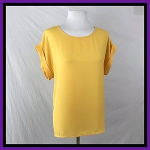 Forever 21 Yellow Shirt